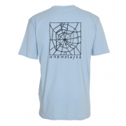 INFINITE WEB Blue Tee